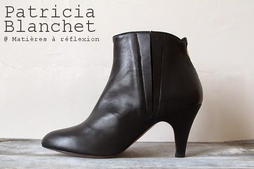 Low boots retro Patricia Blanchet Mulolan