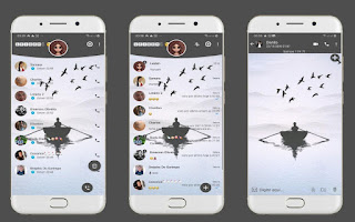 Boat Theme For YOWhatsApp & Fouad WhatsApp By Leidiane