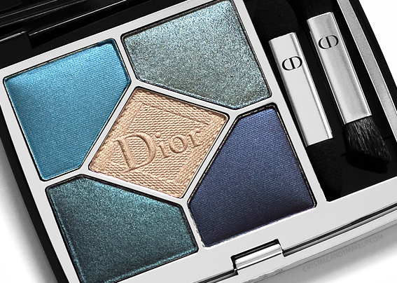 Dior 5 Couleurs Couture Eyeshadow Palettes 279 Denim Review Photos