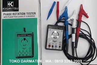 Darmatek Jual Kyoritsu 8031F Phase Rotation Indicator Tester Baru