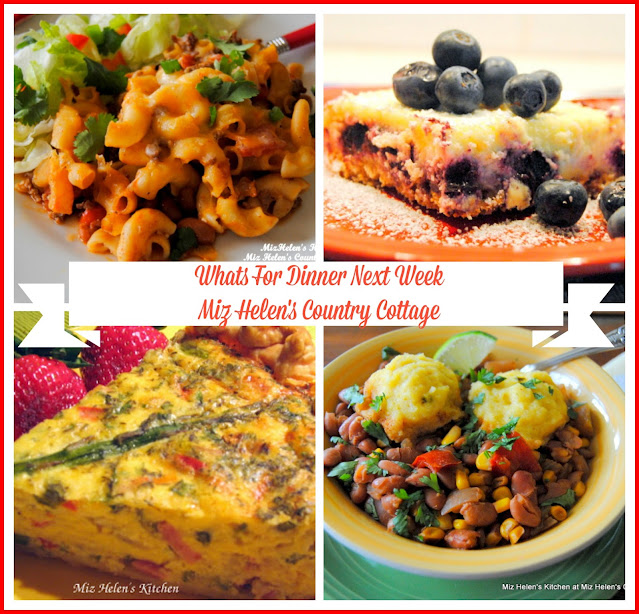 Whats For Dinner Next Week,9-27-20 at Miz Helen's Country Cottage