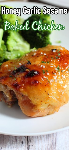 close up of chicken thigh for pinterest.