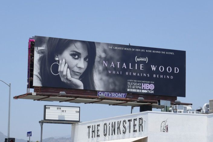 Natalie Wood HBO documentary billboard