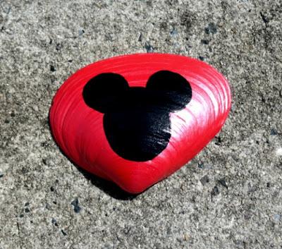 Mickey Mouse Seashell Birthday Party Favors