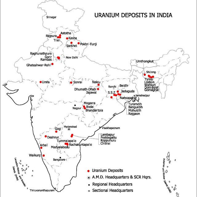 Uranium Ore Mines - India - 001