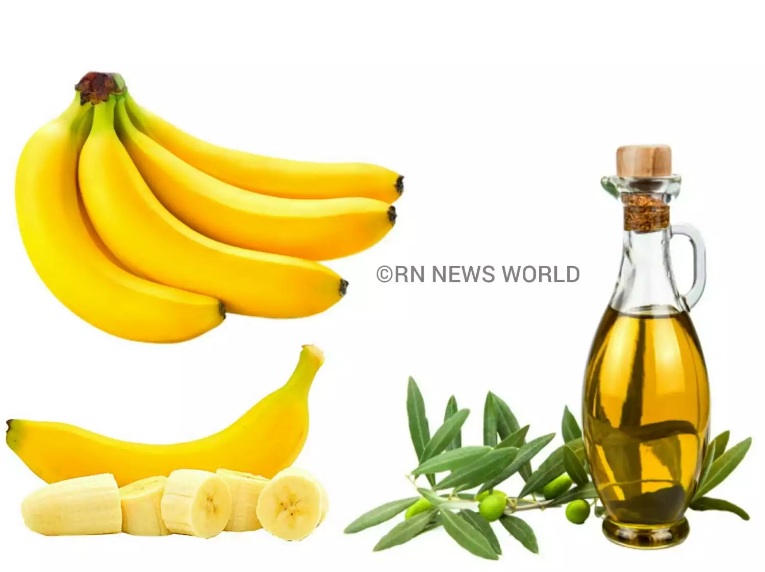 how to use of olive oil and banana for hair mask