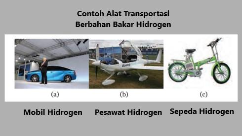 contoh transportasi dengan bahan bakar hidrogen