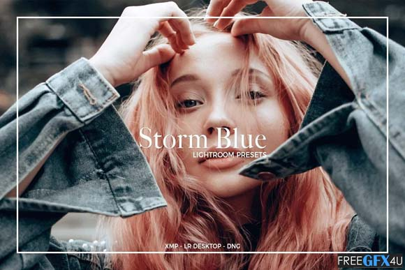 STORM BLUE LIGHTROOM PRESETS
