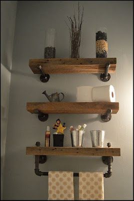 bathroom shelves above toilet ideas