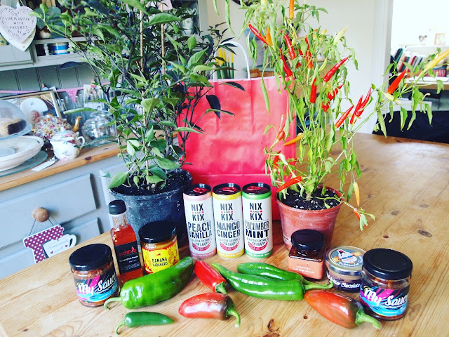 Chilli loot from Edible Ornamentals in Bedfordshire