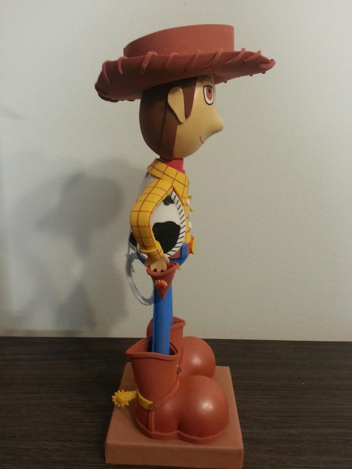 Precio  35€ (A la venta en tienda Karamelo en Barbera del Valles) Aqui os  dejo la foto de la fofucha de Woody de la pelicula de Toy Story. Como  podeis ver ... f6c6735d972