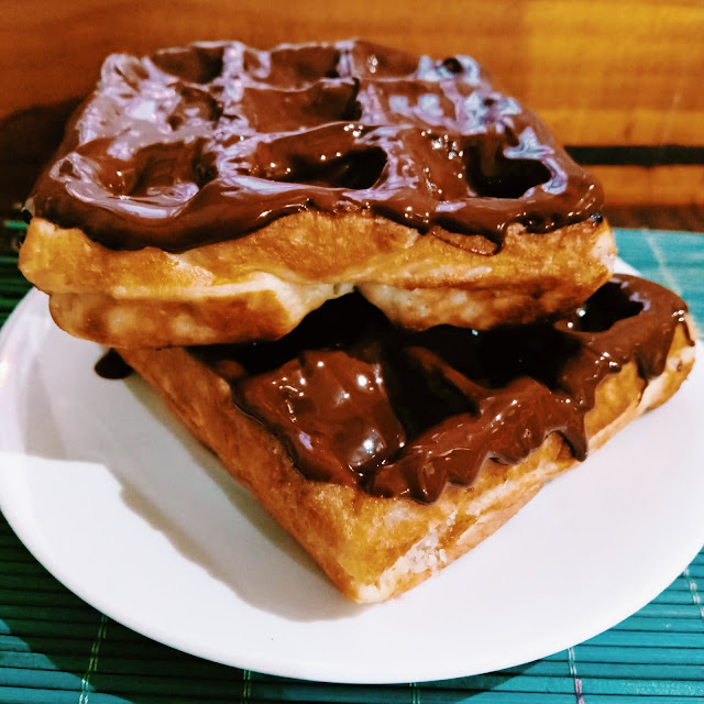 Waffle Chocolate con Leche