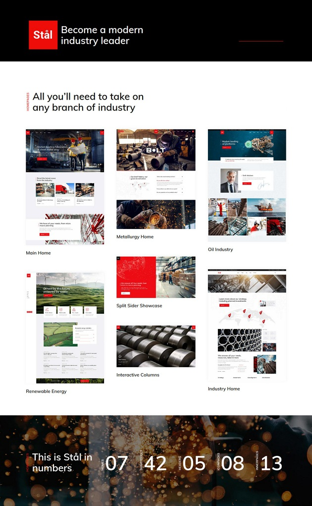 Stal - Industry WordPress Theme