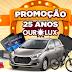 """Promoção: """"25 anos OuroLux"""""""