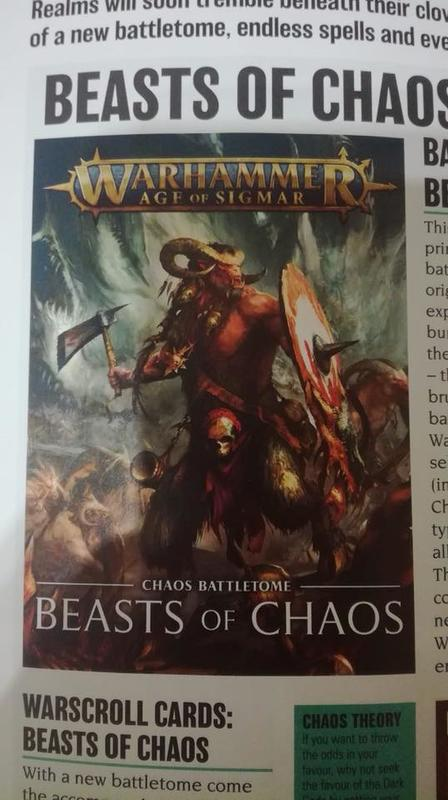 Battletome Beasts of Chaos