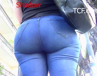 Mujeres caderonas bonitas jeans apretados