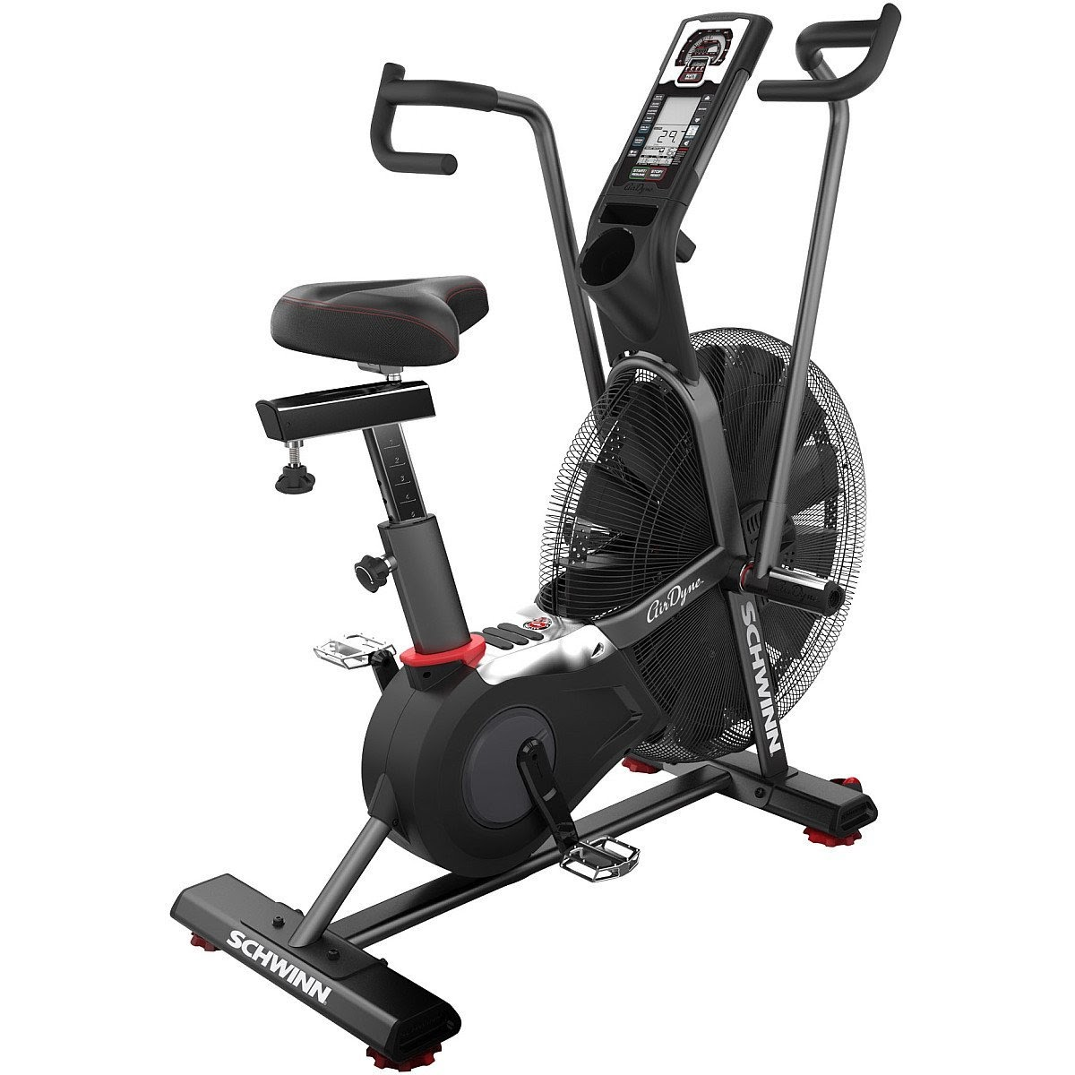 Home gym zone schwinn ad airdyne exercise bike review