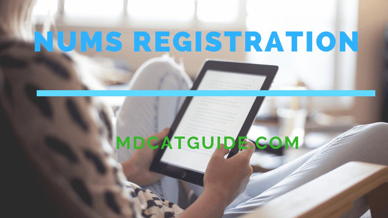nums registration 2021