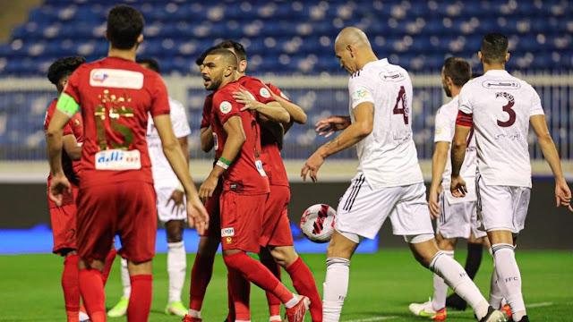 ملخص اهداف مباراة ضمك والفيصلي (2-0) الدوري السعودي