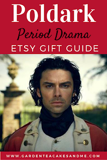 Poldark period drama love etsy gift guide Ross Poldark bbc