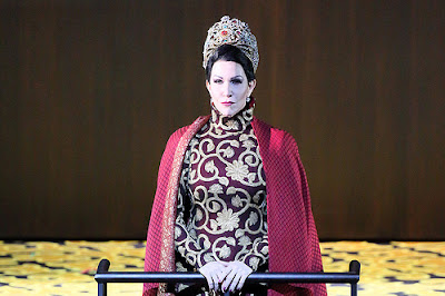 Joyce DiDonato as Semiramide - Royal Opera (Photo Bill Cooper)