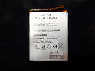 Baterai Sharp R1 456080 MCOM Like Original 4000mAh