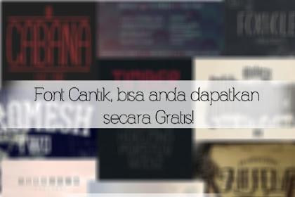 Kumpulan Font Minimalis Gratis | Quotes Font