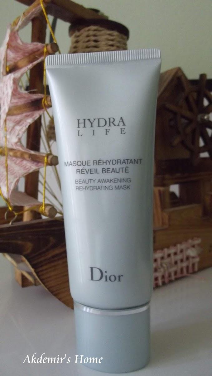 Dior Hydra Life Rehydrating Mask    Nem Maskesi İnceleme