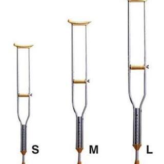 X-Logers.net SATUAN Tongkat Ketiak Crutch Tongkat Kruk Alat Bantu Jalan Sella