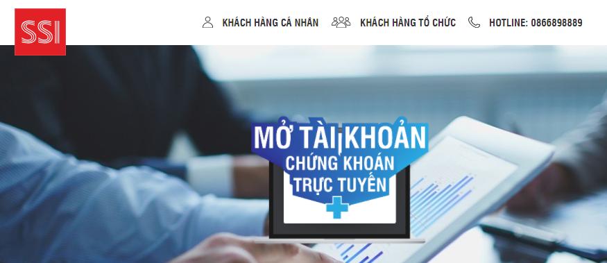 Đăng ký mở tài khoản chứng khoán trực tuyến SSI 2021 trong 5 phút