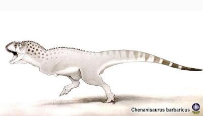 T. rex Afrika, Salah Satu Dinosaurus Terakhir Sebelum Punah