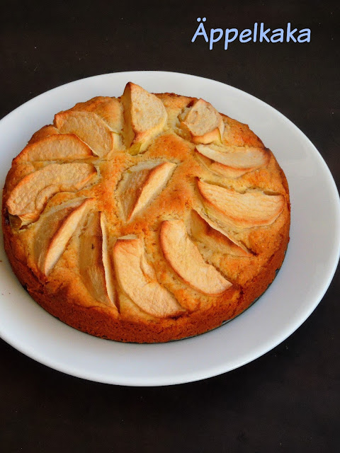 Äppelkaka, Swedish Apple Cake