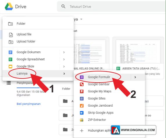 Cara Membuat tes Online dengan Google Drive