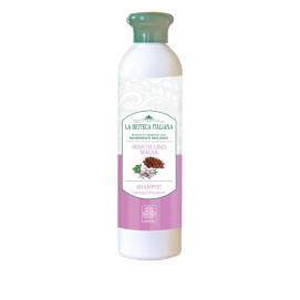 Shampoo Semi di Lino e Malva - La Bioteca Italiana