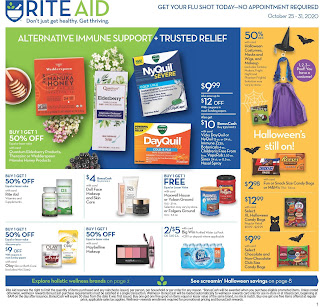 ⭐ Rite Aid Ad 10/25/20 ⭐ Rite Aid Weekly Ad October 25 2020