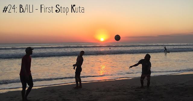 Bali, Kuta, Sonnenuntergang