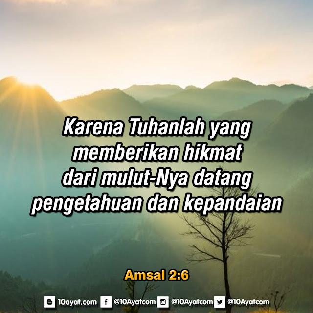 Amsal 2:6