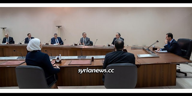 President Assad heading the government team combating COVID-19