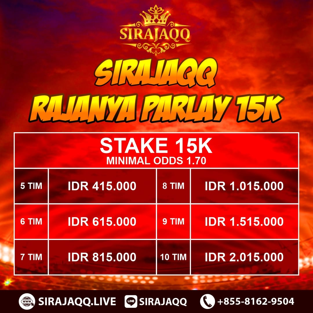 EVENT JP PARLAY STAKE 15K SIRAJAQQ