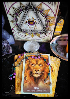 Lion Card from The Secret Language of Animals Oracle
