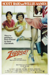 Zapped 1982 movie poster