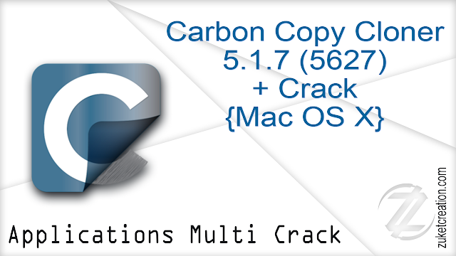 Carbon Copy Cloner 5.1.7 (5627) + Crack {Mac OS X}