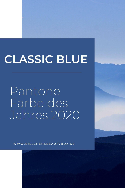 Pantone Farbe des Jahres 2020 - Classic Blue - Tipps & Ideen - Einrichtung Mode Make-Up