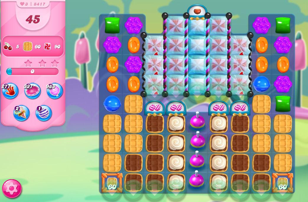 Candy Crush Saga level 8417