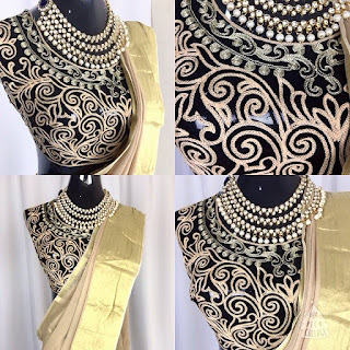 SILK SAREE BLOUSE