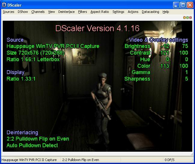 DScaler Deinterlacer/Scaler free tv pr ree tv pc tv tuner card