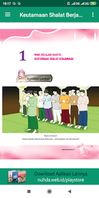 Aplikasi Buku Siswa Al-Qur'an Hadis Kelas 3 MI Kurikulum 2013 Revisi 2016