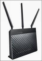Изображение Wi-Fi-роутера на 3 антенны