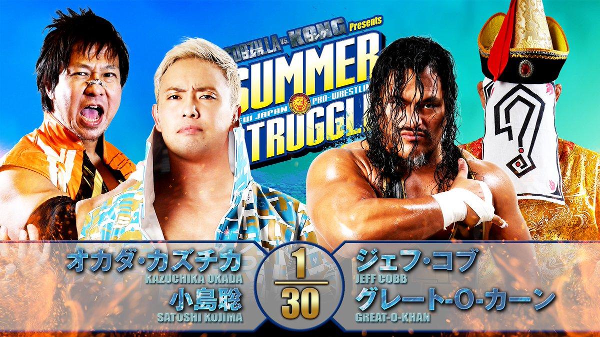 Cobertura: NJPW Summer Struggle 2021 – Day 19 – Pelas ilhas!