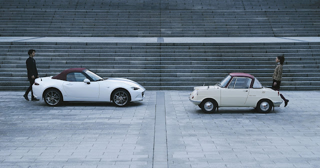 Mazda 100th Anniversary Special Edition series - Concept MX-5 and R360